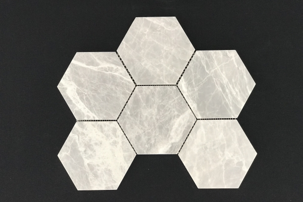 Nordic Grey Hexagon