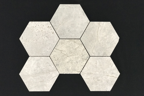 Tundra Grey Hexagon